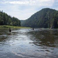 Рыбная ловля на Чусовой :: Александр Кафтанов