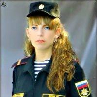 Портрет контрактницы в стиле ретро :: Кай-8 (Ярослав) Забелин