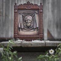 Иисус на плащанице... :: Сергей Смоляков