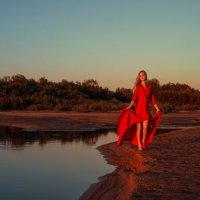 Закат на Ваге :: Женя Рыжов