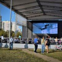 Московское кино на свежем воздухе! :: Татьяна Помогалова