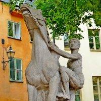 Юноша, взбирающийся на коня :: Raduzka (Надежда Веркина)