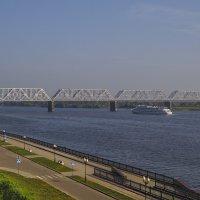 ЖД-мост через Волгу :: Сергей Цветков