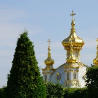 Купола Петра и Павла :: Сергей Беляев