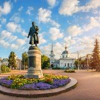 Афанасий Никитин в Твери :: Юлия Батурина