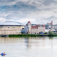 Городской пейзаж, Казань :: Сергей