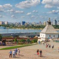 Воскресный августовский денёк в Казани :: Сергей