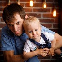 Отец и сын :: Сергей