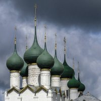 куполы церкви Григории Богослова :: Георгий А