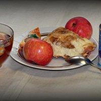 Шарлотка к утреннему чаепитию.. :: Андрей Заломленков