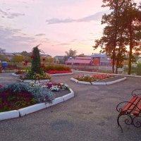 Рассвет в городском саду ) :: Елена (Elena Fly) Хайдукова