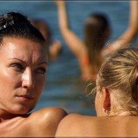 Пляжные хищницы, перекрёстный обзор. :: Anatol Livtsov