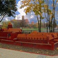 Макет замка Мальборк :: Сергей Карачин