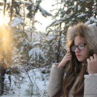 Мороз и солнце... :: Анна Великанова