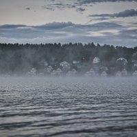 домики в тумане... :: Alexandr Staroverov