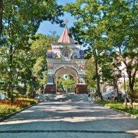 """Часовня-триумфальная арка """"Николаевская"""" :: Андрей K."""