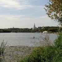 купание в Москва-реке :: Валентина. .
