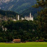 Замок Нойшванштайн.восхитительное и грандиозное, сказочное сооружение :: backareva.irina Бакарева