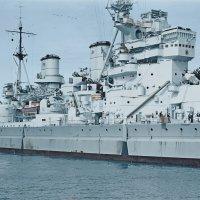 """HMS King George V"". 1945 в Австралии. :: Александр"