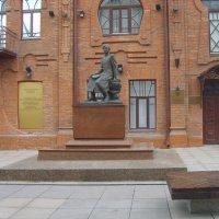 Памятник Чокану Валиханову :: Вячеслав & Алёна Макаренины