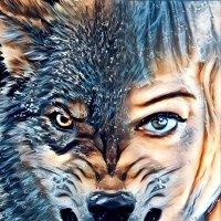 Волчица :: Элла Перелыгина
