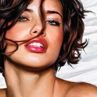 Адриана Лима (стилизация фото) :: Алекс Штиль