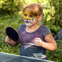 И львы тоже любят пинг-понг... :: Сергей Ключарёв