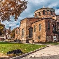 Византийский храм Св. Ирины в Стамбуле :: Ирина Лепнёва