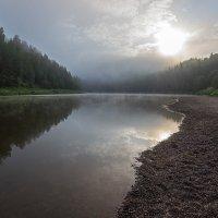 Рассвет на Чусовой :: Александр Кафтанов