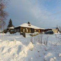 Зима в деревне :: Валентин Котляров