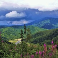 Облачно в горах :: Сергей Чиняев