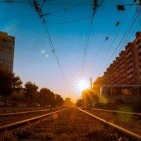 Лучи закатного дня г :: Евгения Сенченко