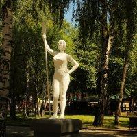 Девушка с веслом. :: sav-al-v Савченко