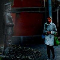 Проходи, не задерживайся! :: Александр Сапунов