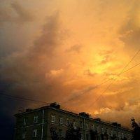 Гроза уходит :: Ирина Румянцева