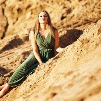 Королева золотых песков :: Евгений Волк