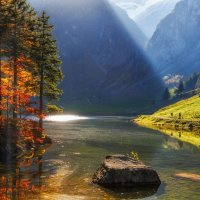 Осень в Альпах :: Владимир Колесников
