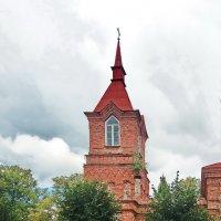 Здание бывшей православной церкви построено в 1916 году. :: Liudmila LLF