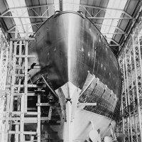 USS Washington (BB -49) , stern. :: Александр
