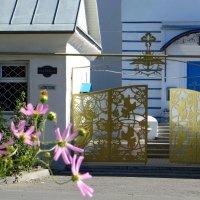 Красивые ворота храма :: Татьяна Смоляниченко