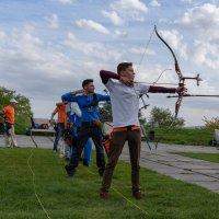 Соревнование лучников на крепости :: Валерий Михмель