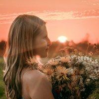 Девичьи портреты в закате :: Ольга Токмакова