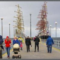 Парусники Седов и Мир в Таллинне :: Jossif Braschinsky