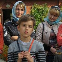 На экскурсии в монастыре :: Екатерина