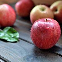 Осенних яблок красные шары... :: Наталья Natupans