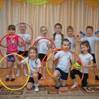 Урок физкультуры в детском саду :: Дмитрий Конев