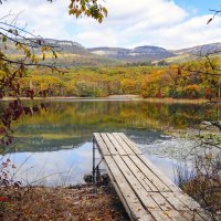 Осень в Байдарской Долине :: Наталья Кузнецова