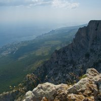 ЮБК с вершины Ай Петри :: Юрий Кальченко
