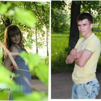 Арина и Алексей :: Алена Мотявина