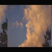 Облако похожее на профиль  просыпающейся  старушки . :: Елена Kазак